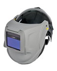 PAPR welding helmet for powered air purifying respirator against fumes and vapors