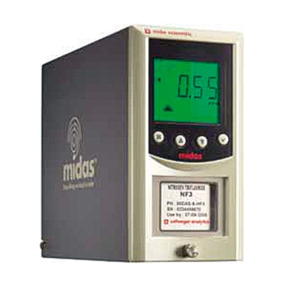 Fixed gas detector Midas