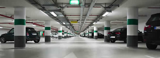 Parkings gas detection controllers