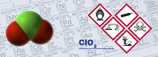 ClO2 gas detector and chlorine dioxide respiratory protection