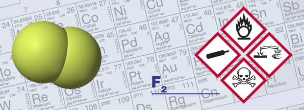 Fluorine gas detector and F2 respiratory protection for better safety