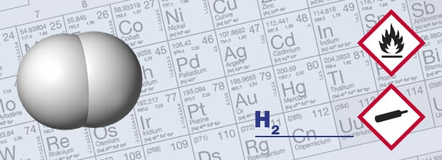 Hydrogen gas detectors and H2 respiratory protection