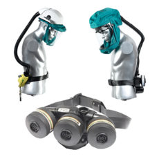 Powered air assisted respirator Tornado