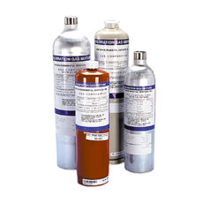 Gas detectors accessories Calibration gas cylinders