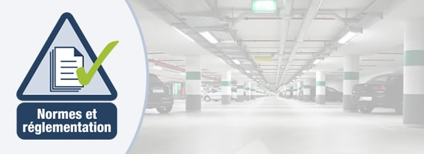 standards and regulations for parking garage gas detection