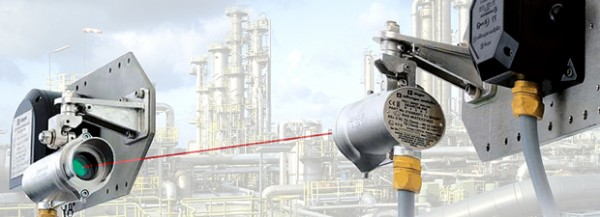 open path gas detectors one type of fixed gas detection systems