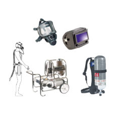 Respiratory protection Insulating welding respiratory protection