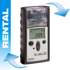 Single gas detector rental