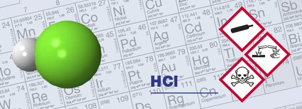 hydrogen chloride detector and HCl respiratory protection