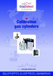 calibration gas cylinders catalogue