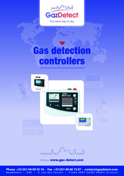 gas detection controllers catalogue
