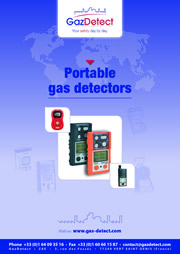portable gas detectors catalogue