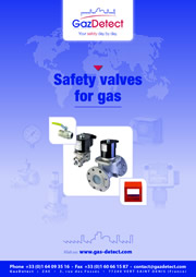 gas safety valves catalogue