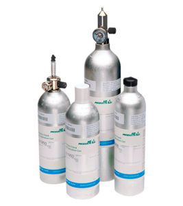 Air products calibration gas cylinder
