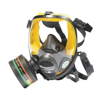 Vision panoramic gas mask by Scott Safety