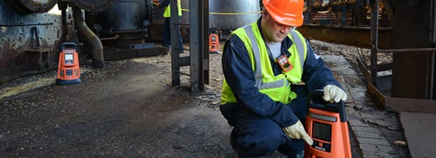 LENS Wireless gas detector for better safety on worksite