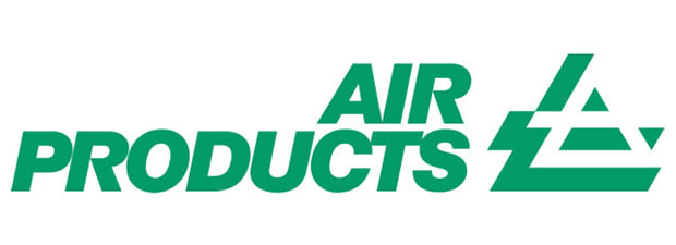 Air Products gas cylinders