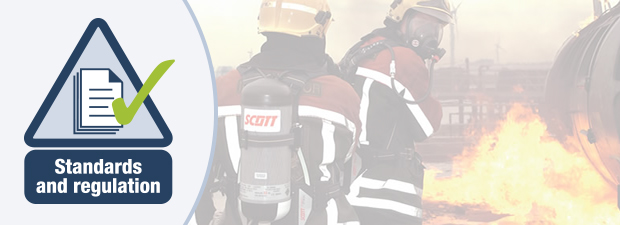 Self contained breathing apparatus standards and regulation