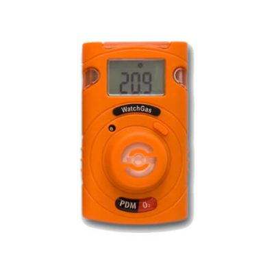 Disposable gas detector for CO, H2S, NH3, SO2 or O2 gas monitoring