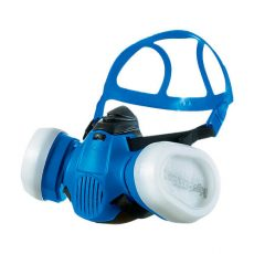 The half face respirator X-plore 3500, a dual filter gas mask by Dräger