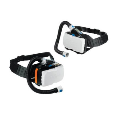 The X-plore 8000 PAPR respirator system by Dräger enhanced positive pressure respirator