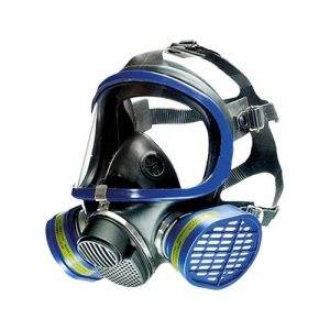 gaz mask for Ozone cleaning - Drager X-plore 5500