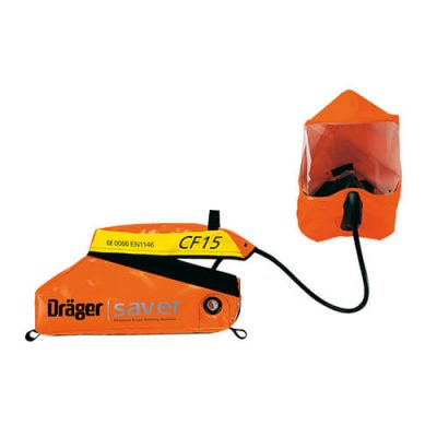 Saver CF emergency escape breathing apparatus, short interventions SCBA by Drager