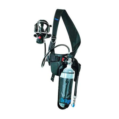 Dräger self-contained breathing apparatus for short interventions