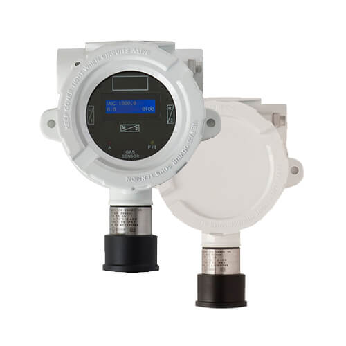 VOC monitor, volatile organic compounds fixed detector with PID lamp
