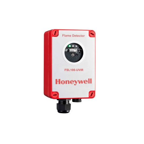 Honeywell flame detector FSL100 for industrial fire ignition monitoring