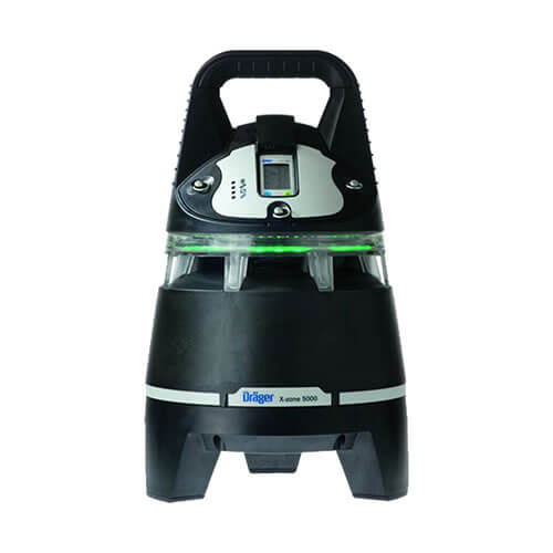 Drager X-zone area gas monitor for worksite safety