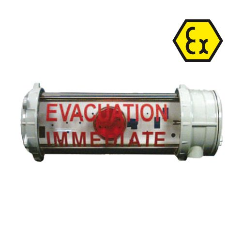 AL2 light visual panel for ATEX zone