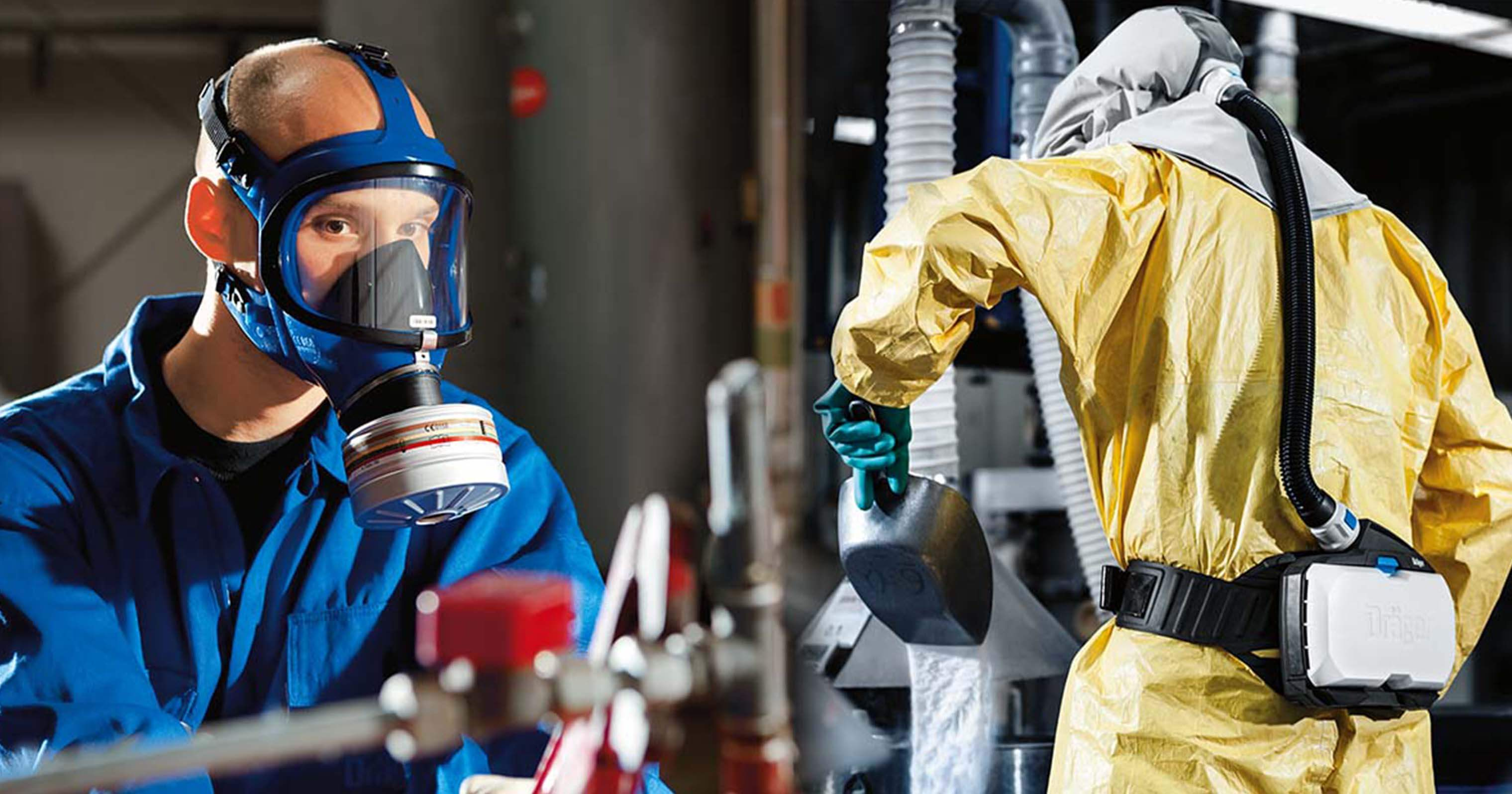 how to choose your respirator. Gas mask or powered respirator?