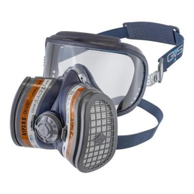 GVS Elipse Integra mask with safety glasses